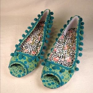 Irregular Choice Retro Betty Wedges